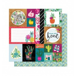 "Papel 12""x12"" New Day Kind..."