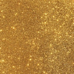 Cartulina Glitter  gold