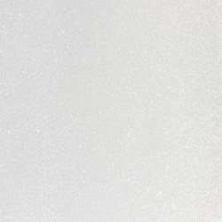 Cartulina Glitter  white