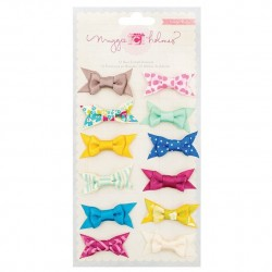 Lazos fabric bows