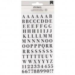 Alfabeto San Serif Clear