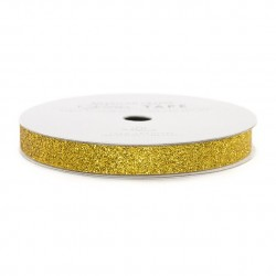 Glitter Tape 7mm gold