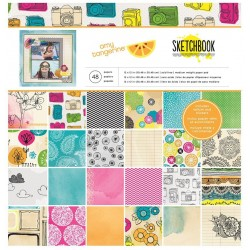 Paper pad - 12x12 - Amy...