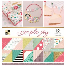 "Simple Joy Stack 12""x12"""