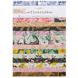 Flourish  Pad - 6x8 con foil